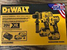 DEWALT 20V XR Cordless Li-Ion 2-Tool Combo Kit - DCK299M2