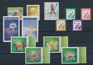 LO42786 Kazachstan mixed thematics nice lot of good stamps MNH