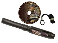 Extinguisher Deer Call Black DVD Hunting Buck Lure Grunt bucks doe fawn caller