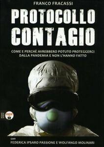 LIBRO PROTOCOLLO CONTAGIO - FRANCO FRACASSI