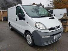Box Regular Cab Vivaro Commercial Vans & Pickups