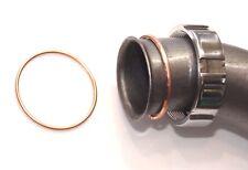 2x (1Paar) Krümmer - Dichtung Kupfer, Kupferring f DKW 500 NZ, SB, DKW-Rad 50 mm