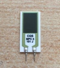 Montato verticale 5 W Power Resistore 100R meggit MPC5 Series Z2115