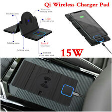 QI Wireless Car Phone Charger Fast Charging Pad Non-slip Mat For iPhone 11 Pro