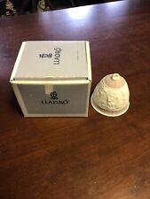1991 Lladro Porcelain Christmas Bell # 5803 Nib