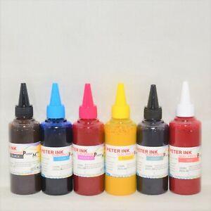 CISS 6X100ML Premium Sublimation refill ink alternative for XP-15000 printer c