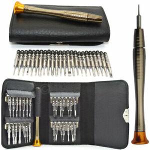 25 in 1 Precision Mobile Phone Repair Tool Kit Screwdriver For iPhone 6 7 8 X S7