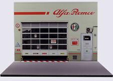 Diorama présentoir Alfa Romeo - Melfa Auto S.p.a. - 1/24ème - #24-2-E-E-007