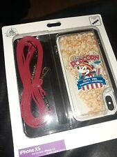 New Rare Disney Parks D-tech iphone XS case Mickey main Street Popcorn Company