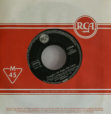 """Elvis Presley - Tonight´S all Right for Love - Wooden Heart -7 """" Singles (h343)"""