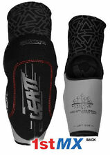 Leatt 3DF Elbow Guard Protector Pads Motocross Enduro Black Adults Large XLarge