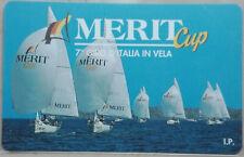 SCHEDE TELEFONICHE ITALIA  PRP     MERIT CUP CAT.C&C 3336