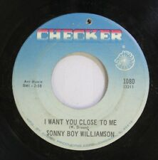 Hear! R&B 45 Sonny Boy James - I Want You Close To Me / My Younger Days On Check