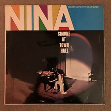 Nina Simone - At Town Hall - Vinyl LP - GGL 0381 - 1966