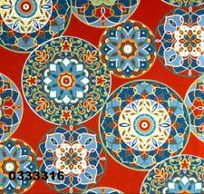 "18"" x 18"" Richloom Solarium Outdoor Cera Pompeii Pillow Cover Hand Crafted"