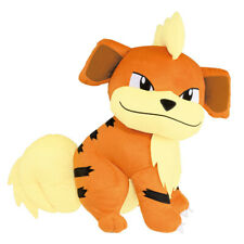 "Pokemon Sun & Moon Growlithe Gardie 13"" Character Huge Plush Toy Soft Doll"