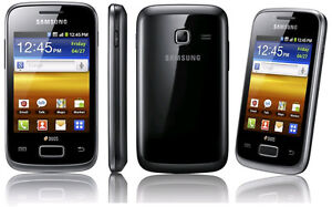 Samsung Galaxy Y Duos S6102 512MB Dual SIM Android 3G3.15MP Wifi Touchscreen