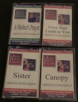 Dawn Smith Jordan Performance Track Original Studio Version Lot of 4 Cassettes