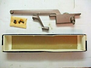 "Henne USA Casement Window Operator No. 50 Right Hand 9"" Arm Bronze Vintage"