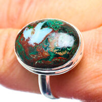 Chrysocolla 925 Sterling Silver Ring Size 12 Ana Co Jewelry R39764F