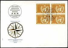 Suiza 1973, 1f meteorológicos Org. FDC Primer Día Cubierta #C37906