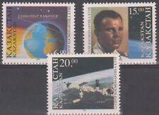 1996 Kazakhstan Space Gagarin Space station in flight MNH