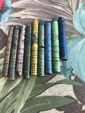 9 Rare Vintage Binney & Smith Crayon Artist And Designer Looks Like Shakespeare