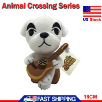 Animal Crossing KK Slider Plush 18CM Soft Stuffed Animal Doll Toy Kids Xmas Gift