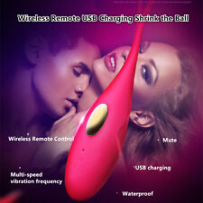 Invisible Wearable Wireless Remote Control Shrink Vaginal Ball Vibrator in Panty