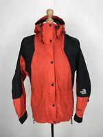 Vintage THE NORTH FACE Mens MOUNTAIN LIGHT Jacket   GORETEX 90s   S Mango Orange