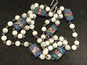 Vintage Venetian Glass 28 Inch Necklace