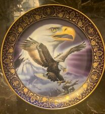 """Royal Doulton Freedoms Foundation Majestic Freedom Eagle Collector 8"""" Plate"""