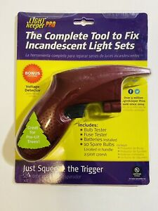 Light Keeper Pro 01201 Complete Tool for Fixing Incandescent Light Sets