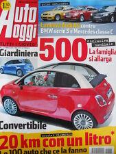 Auto Oggi n°3 2008 Audi A4 contro BMW Serie 3 e Mercedes Classe C  [P45]