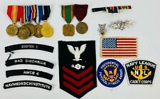 Navy Military Medals And Ribbons- War On Terrorism - Patches and Pins