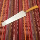 Vintage Stainless Steel Cake Pie Server Spatula Bakelite Handle ~Knife Edge
