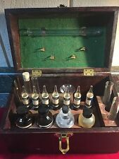1940 LAMOTTE CHEMICAL PRODUCTS CO. CHEMICAL WOOD TESTING BOX