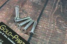Senkschraube mit Innensechskant M6x20 CHROM verchromt M6 Schraube Senkkopf