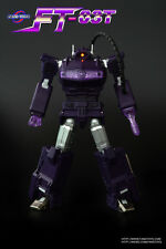 Transformers Shockwave Dark Purple Toy Color FT-03T Quakewave with Arm hose Kit!