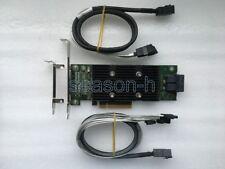 Dell PERC H330 8PORT  6/12GB PCI-E RAID0.1.5.JBOD+8643 to 4SATA to 4 SATA