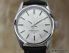 Seiko 36000 Bph Hi Beat Lord Marvel 5740 8000 Men 35mm Manual Japan Watch JA105