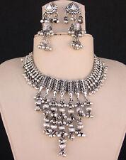 Tribal Fashion Jewelry Necklace Earring Gypsy Boho Hippie Kuchi Banjara Festival