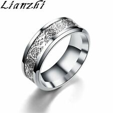 Stainless Steel Silver Wedding Rings for Men eBay