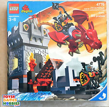 *NEW* LEGO Duplo Dragon Castle Tower Knight Set 4776 - Sealed Rare VHTF Kingdom