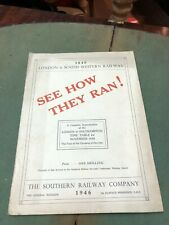 More details for 1946 london & south western railway timetable for london-southampton 1840