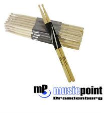 8 Paar DIMAVERY DDS-5A Drumsticks, Eiche Schlagzeug-Stöcke Sicks Trommel