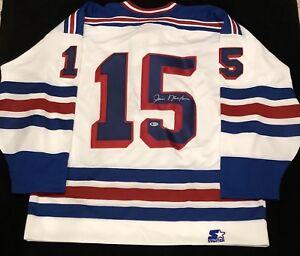 Jim Neilson Signed New York Rangers Starter Jersey NWT Size XL Beckett COA