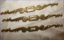 Trio d'Entrées de Serrures - Platine en Bronze pour Meubles - Coqs d'Armoires 4