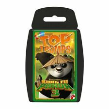 TOP TRUMPS DREAMWORKS KUNG FU PANDA 3 CARD GAME BRAND NEW