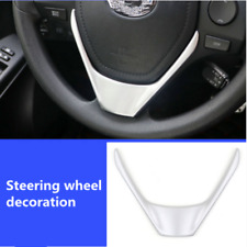 For Toyota RAV4 2016 - 2018 Steering Wheel Cover Chrome Car Styling Accessories